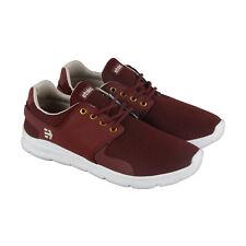 Etnies Scout Xt 4101000459602 Mens Red Low Top Athletic Surf Skate Shoes 6