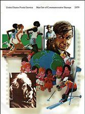 More details for usa 1979 us postal service commemorative stamps in folder