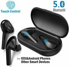 Noise Cancelling Touch Bluetooth 5.0 Earbuds with Mic Hands-Free Android iPhone
