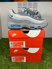 New Nike Air Max 95 Gray Noir Blue Athletic Shoe's (CV1635-001) Many Sizes lot
