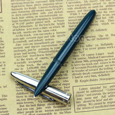 Vintage Hero 366 Classic Style Hooded Nib Fine Fountain Pen Green