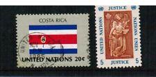 2 Briefmarken UNO New York