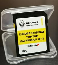 RENAULT CARMINAT TOMTOM MAP VERSION 10.15 SAT NAV SD CARD EUROPE 2019-2020
