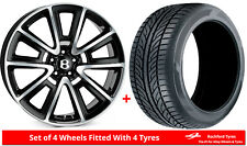 """Alloy Wheels & Tyres 21"""" SSR SSR For Bentley Continental Flying Spur [Mk1] 05-13"""