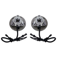 Both (2) New Complete Front Wheel Hub and Bearing Assembly w/ ABS for Explorer