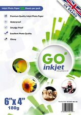 Go Inkjet 6x4 Glossy Photo Paper 180gsm 100 Sheets Plus an Extra 5