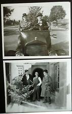 10 LAUREL & HARDY PHOTOS - 1929 BIG BUSINESS - SILENT - 1960s REPRINTS - ROACH