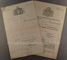 776, Aufnahme-Urkunde der Hamburgischen Staatsangehörigkeit, Hamburger Bürgereid