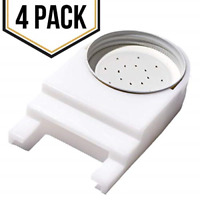 4 Pack Front Entrance Honey Bee Feeder Lid Feeding Bees Water or Sugar Syrup