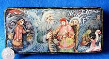 Russian GICLEE style Lacquer box Father FROST Fairy Tale MOROZ IVANOVICH PALEKH
