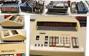 Museum Item  Remington EDC III Nixie Tube Calculator