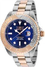 New Mens Invicta Cruiseline Two Tone 48mm Swiss Quartz Steel Rose Gold Watch