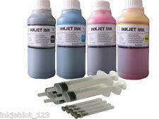 4x250ml UV-dye refill ink for Epson 200 T200XL WF-2520 WF-2530 WF-2540 XP-200