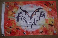 FLYING DOG Bat Country Logo FLAG Label Art craft beer brewery brewing