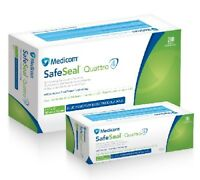MEDICOM Safeseal Quattro Sterilization Pouch 3 1/2 x 9 200/bx 88010