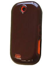 Coque semi rigide noire pour Samsung Corby S3650