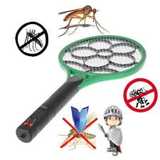 Rechargeable Electric Mosquito Swatter Fly Insect Bat Killer Bug Zapper Racket