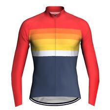 Cycling Jersey Shirt Bib Bike Wear Cycle Clothing MTB Jacket Ride Uniform Long
