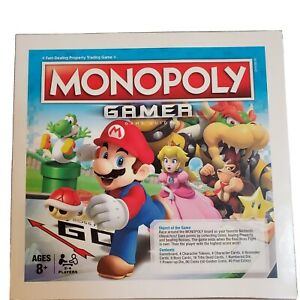2017 Monopoly Gamer (Nintendo) Board Game Instruction Manual ONLY