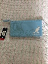 BNWT KANGOL Trio Ladies Wallet/ Cluch Bag/ Pouch- Sz Medium Blue Colour