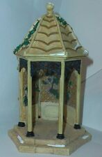 DEPT 56 SNOW VILLAGE VILLAGE GAZEBO w VINES 52652, A+ Cond 7""