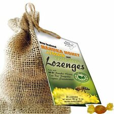 UMF 10+ Manuka Honey, Lemon & Propolis Lozenges Drops with Organic Sweeteners