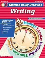 5-Minute Daily Practice: Writing (Grades 4-8)