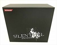 SILENT HILL Sounds Box 8CD + DVD Konami Japan CD Game Music Soundtrack used
