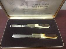 Vintage Taylor Cutlery Japan John L. Lewis Pick & Shovel Limited 600 Knife Set