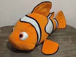 """FINDING NEMO Jumbo 28"""" Plush Doll/Stuffed Animal Hasbro 2002 Disney/Pixar Fish"""