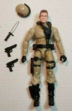 "GI Joe ARAH 3.75 Ultimate Battle Pack RALPH ""STEELER"" PULASKI v5 figure LOOSE"