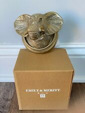 POTTERY BARN TEEN Emily Meritt Animal Wall Hook Elephant