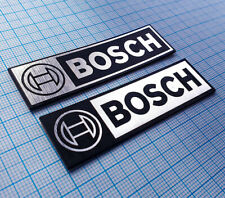 BOSCH - Metallic Sticker Aufkleber Badge - 70 mm x 20 mm  - 2 pieces