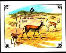 Uzbekistan 1996 Sc111 MiB11 1 SS mnh Mammals.