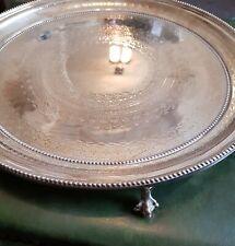 Silver Plate Tray by Thomas Bradbury & Sons 1800s