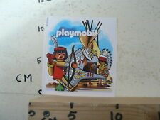 STICKER,DECAL PLAYMOBIL INDIAAN INDIAN  PLAYMOBIL TOY SPEELGOED