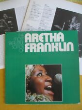 Aretha Franklin 2Lp - Most Beautiful Songs Of , 1972 UK pressing
