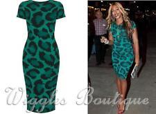 Topshop Polyester Animal Print Regular Dresses for Women
