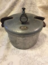 Vintage National Presto Cooker-Canner, Model 7, 16 Quart, Used, with accessories