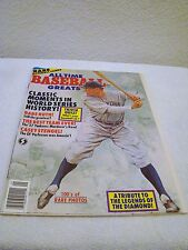 All Time Baseball Greats 1990 Magazine Classic Moments in World Series History!