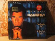 RANSOM mit Mel Gibson von Ron Howard 2x LASERDISC WIDESCREEN -- Dolby Digital