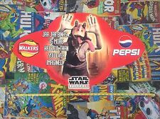 Star Wars Promotional Pepsi Walkers Roof Hanging Poster Jar Jar - Phantom Menace