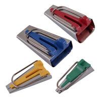 4pcs/kit Fabric Bias Binding Tape Maker Binder Tool for Sewing Quilting