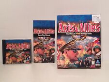 1998 Hasbro Axis & Allies Ultimate WW2 World War 2 Strategy PC Game Big Box Lot