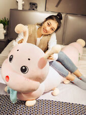 Caterpillar Plush Toys Cute Big Doll Bed with You Sleeping Pillow Doll
