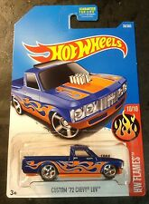 2017 Hot Wheels Super CUSTOM 72 Chevy Luv with Real Riders