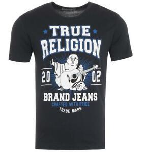 True Religion Buddha Star Logo T-Shirt - Black