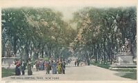 NEW YORK CITY – Central Park The Mall - udb (pre 1908)