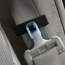 1 Pair Auto Car Truck Seat Belt Adjuster Locking Stopper Clips Extender Buckle