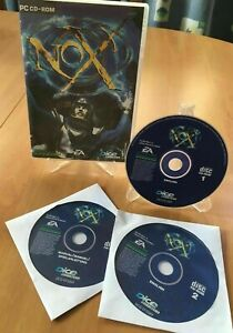 NOX Action RPG Westwood PC Game for Win 95 98 CD-ROM 2 DISC + MANUAL DISC